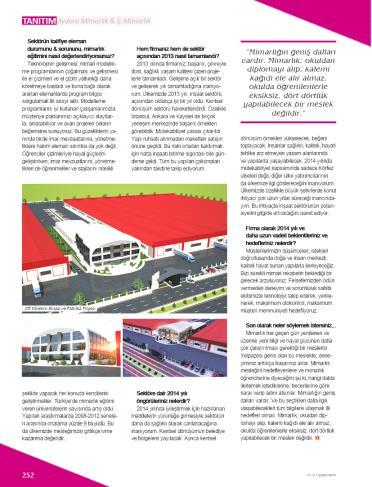 Aydora Mimarlık ve İç Mimarlık - Basın