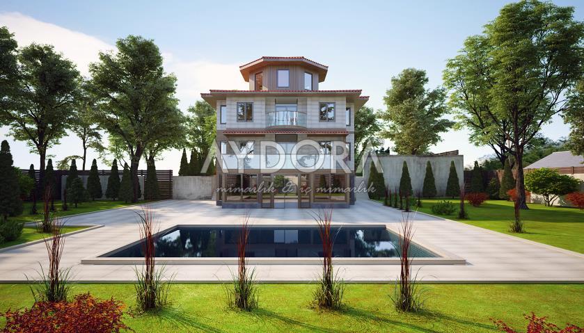 Villa Dış Cephe Tasarımı