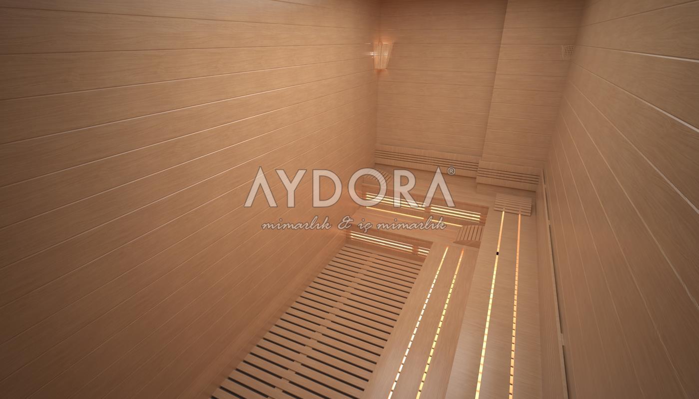 Sauna & Tuz Duvarı & Buhar Odası (Fin Hamamı)